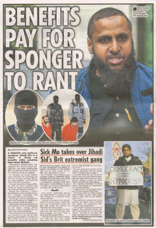 The Jihadis Next Door, Daily Star, 19 January 2016.jpg