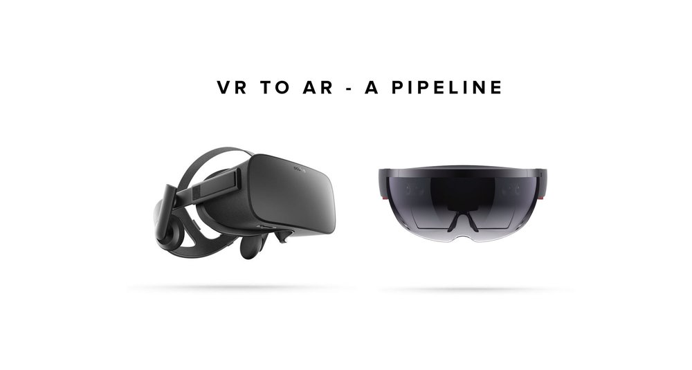VR TO AR PIPELINE DESIGN -
