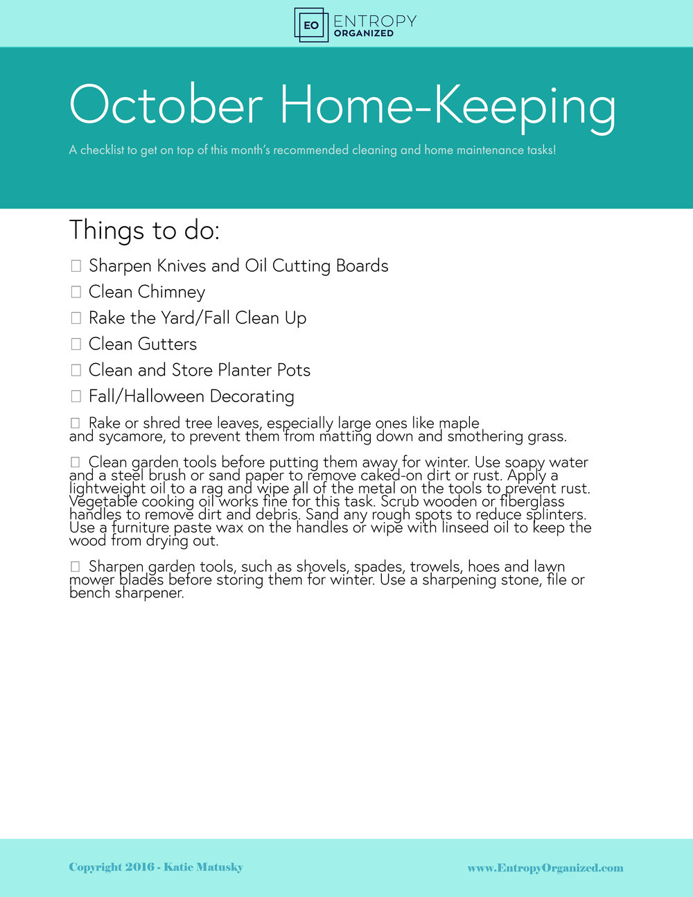 October Cleaning & Home Maintenance.jpg