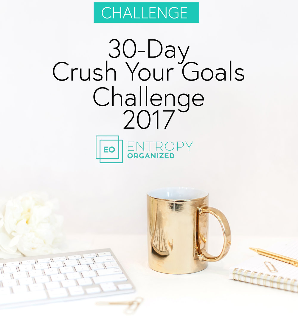 30-day crush your goals