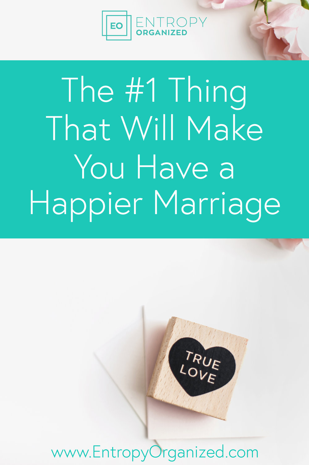 #1 way to have a happier marriage