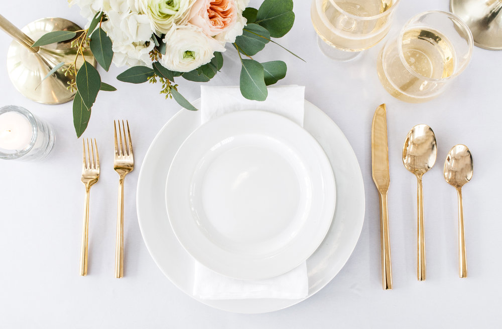 Tabletop - Everything for Centerpieces and Place Settings
