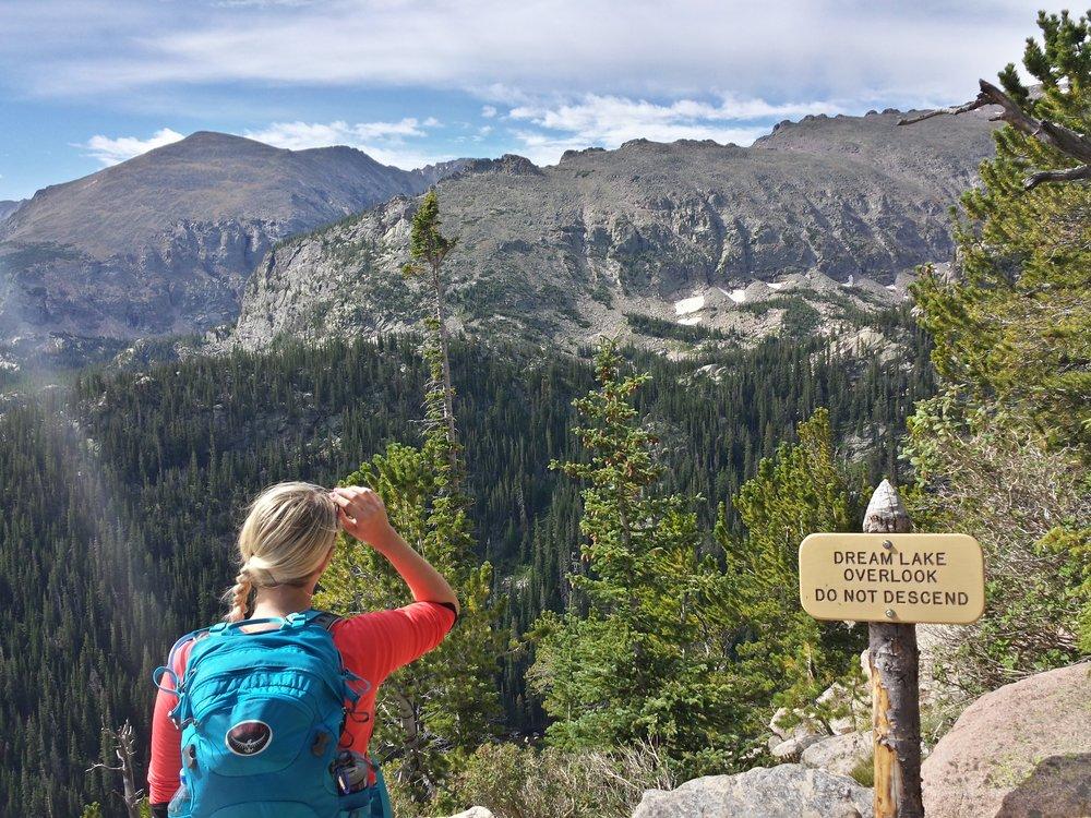 Dream Lake Overlook via Bear Lake Trailhead, Rocky Mountain National Park, CO