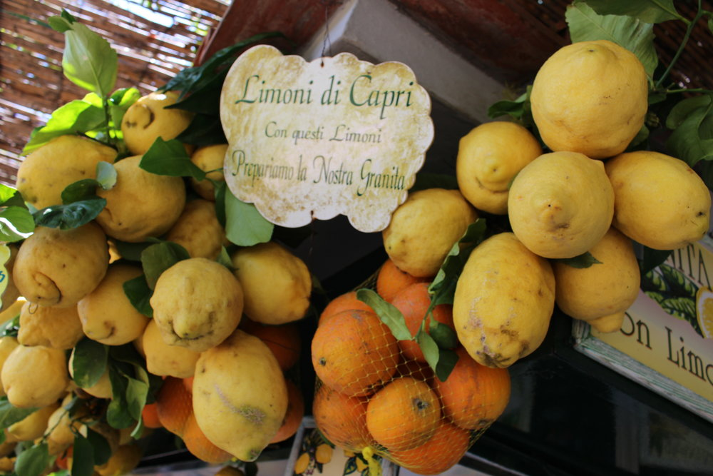 Lemonade Stand, Isle Capri, Italy