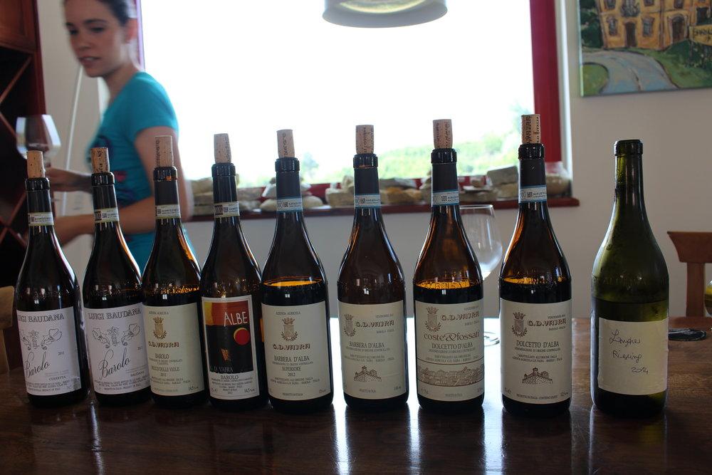 GD Vajra Winery, Barolo, Italy