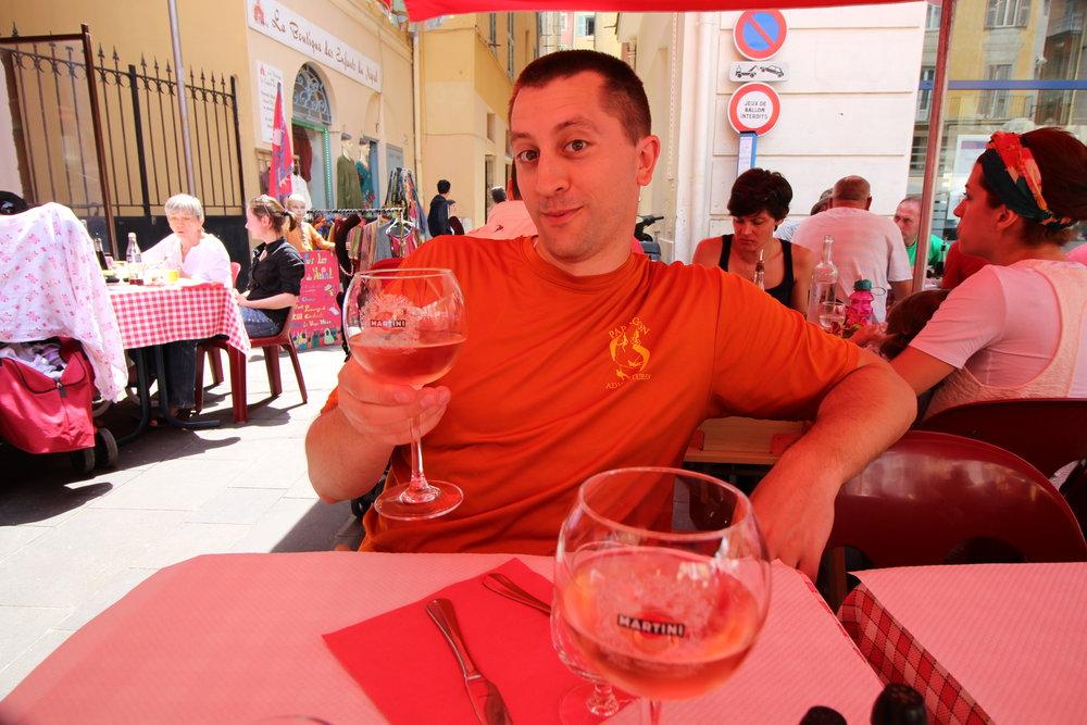 Le Claire Fontaine Restaurant, Nice, France