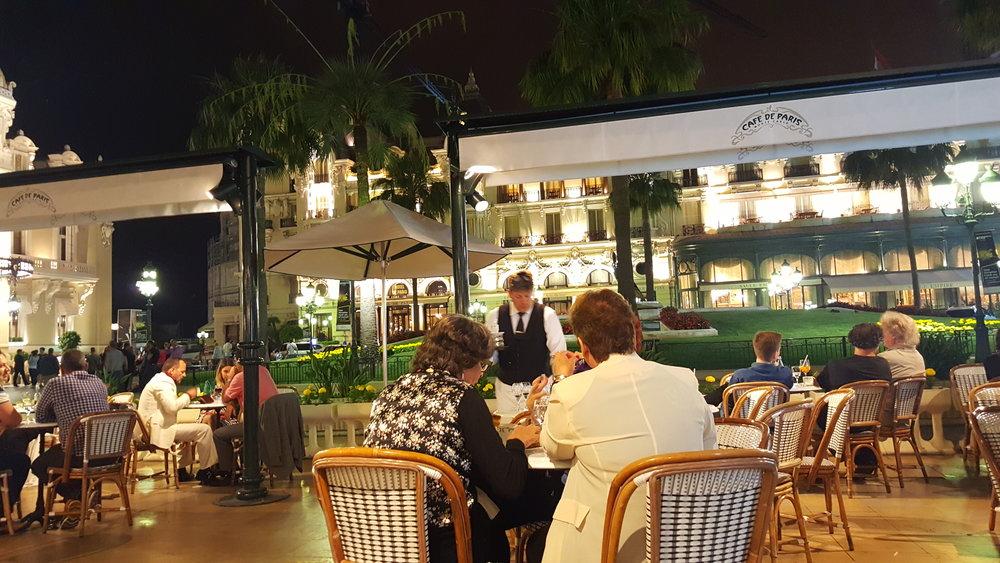 Cafe de Paris, Monte-Carlo, Monaco