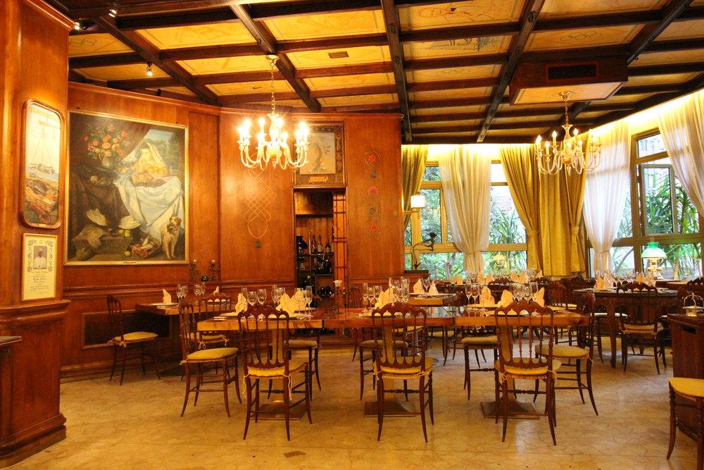Zeffirino Restaurant, Genoa, Italy