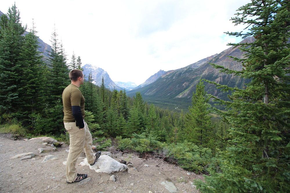 Enroute to Mount Edith Cavell Trailhead, Jasper, AB Canada