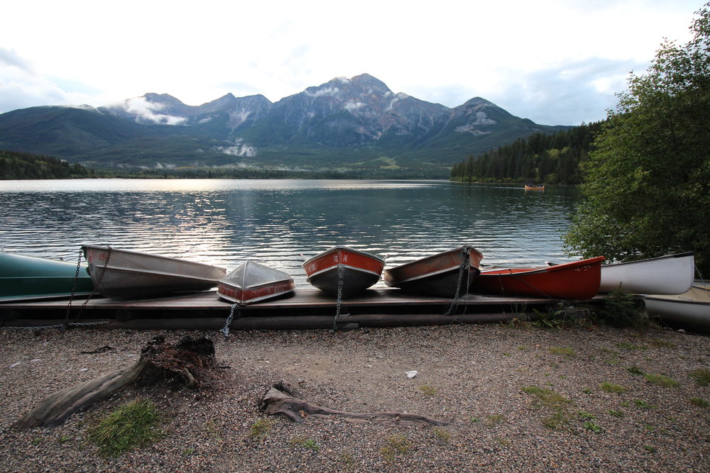 Pyramid Lake, Jasper, AB Canada
