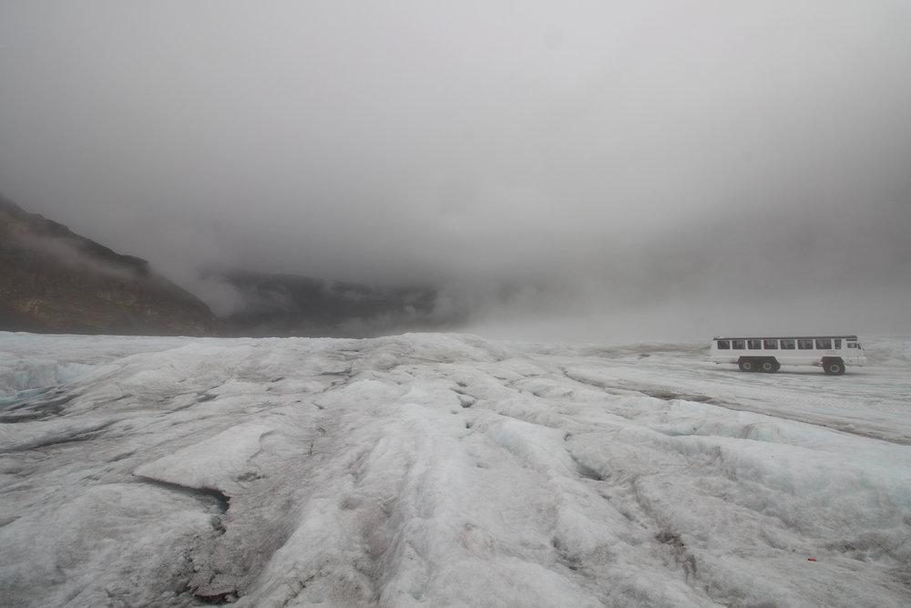 Athabasca Glacier Icefield, Alberta, Canada