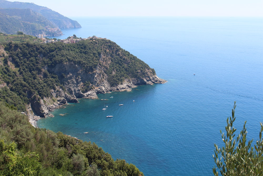 Hiking through Cinque Terre, Italy