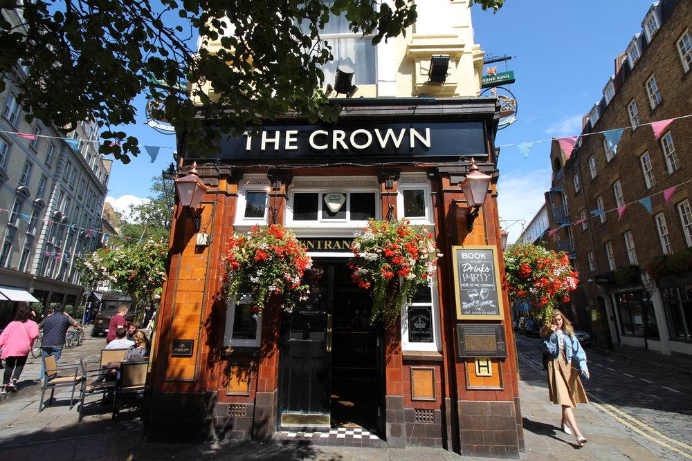 The Crown Pub, London, UK