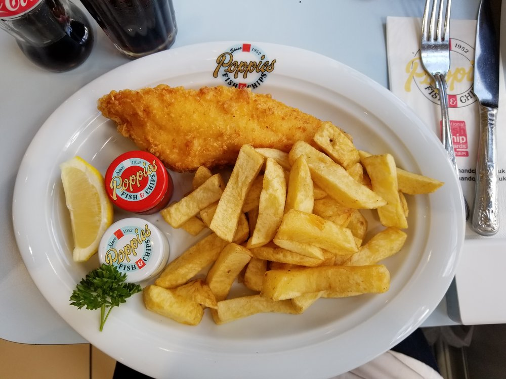 Poppie's Fish & Chips, London, UK