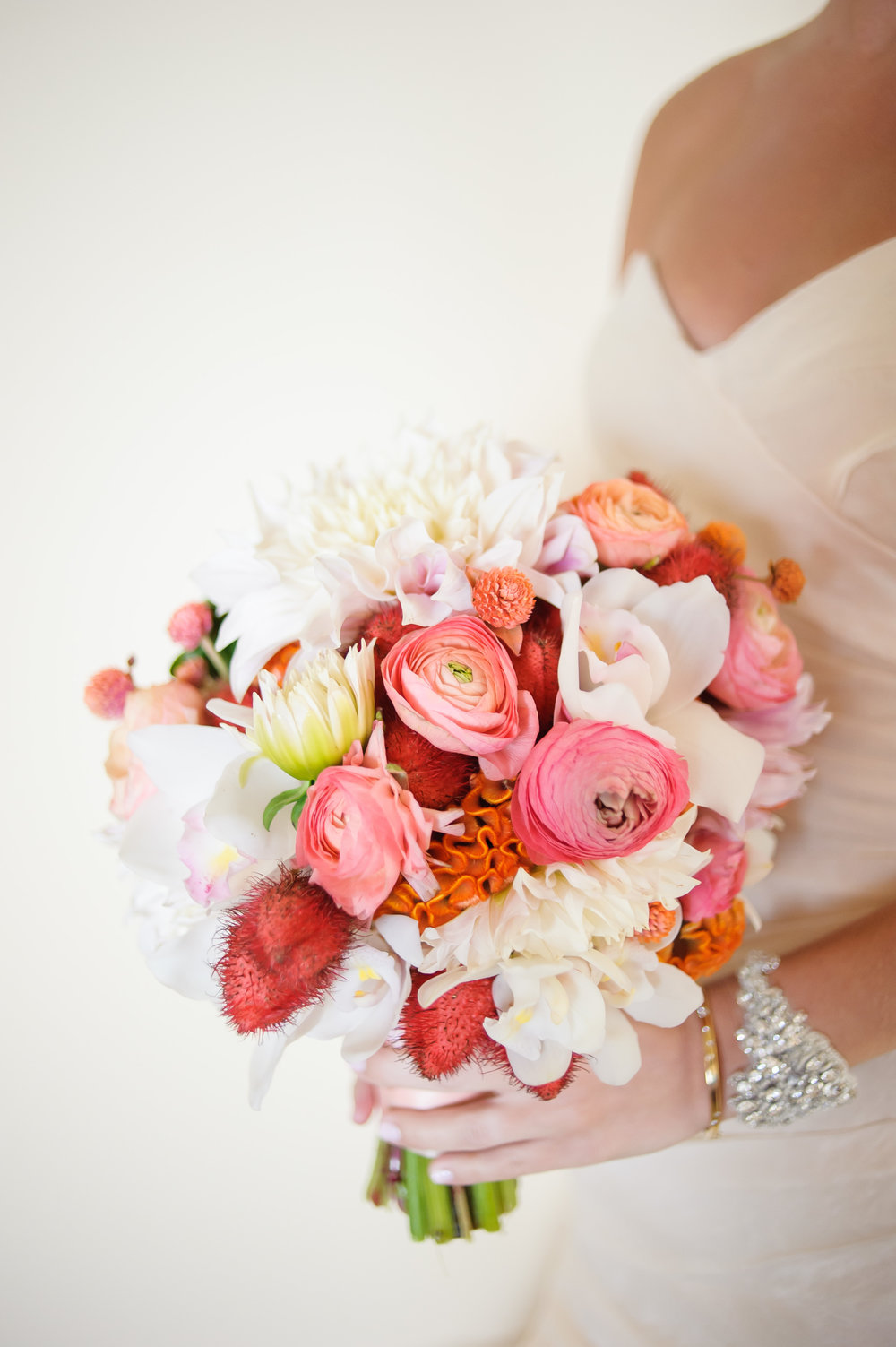 coral bouquet-modern wedding-bliss weddings and events.jpg
