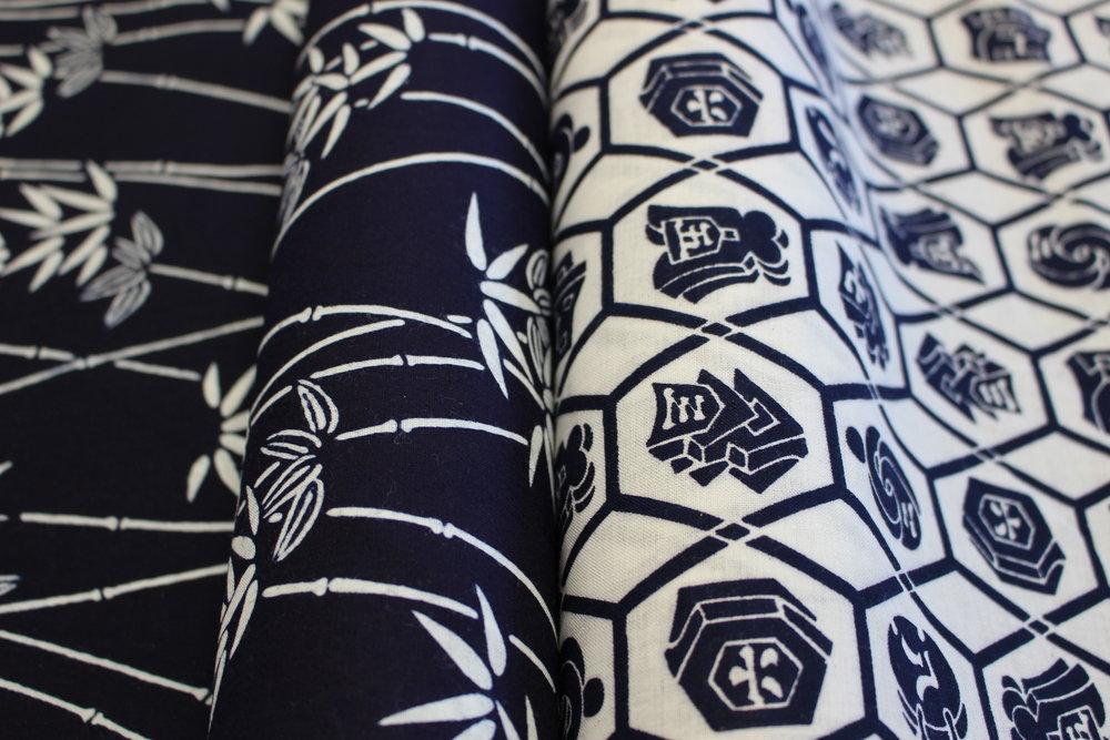 Yukata textiles -