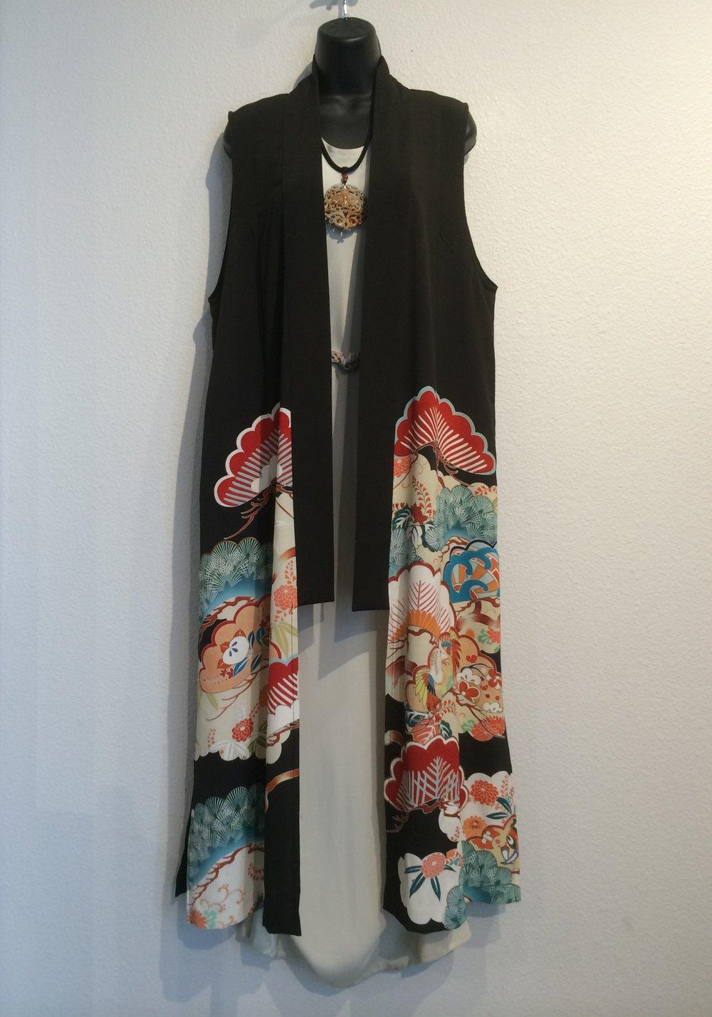 Yasuko Style Y-142-C Kimono Combo Vest  2.JPG