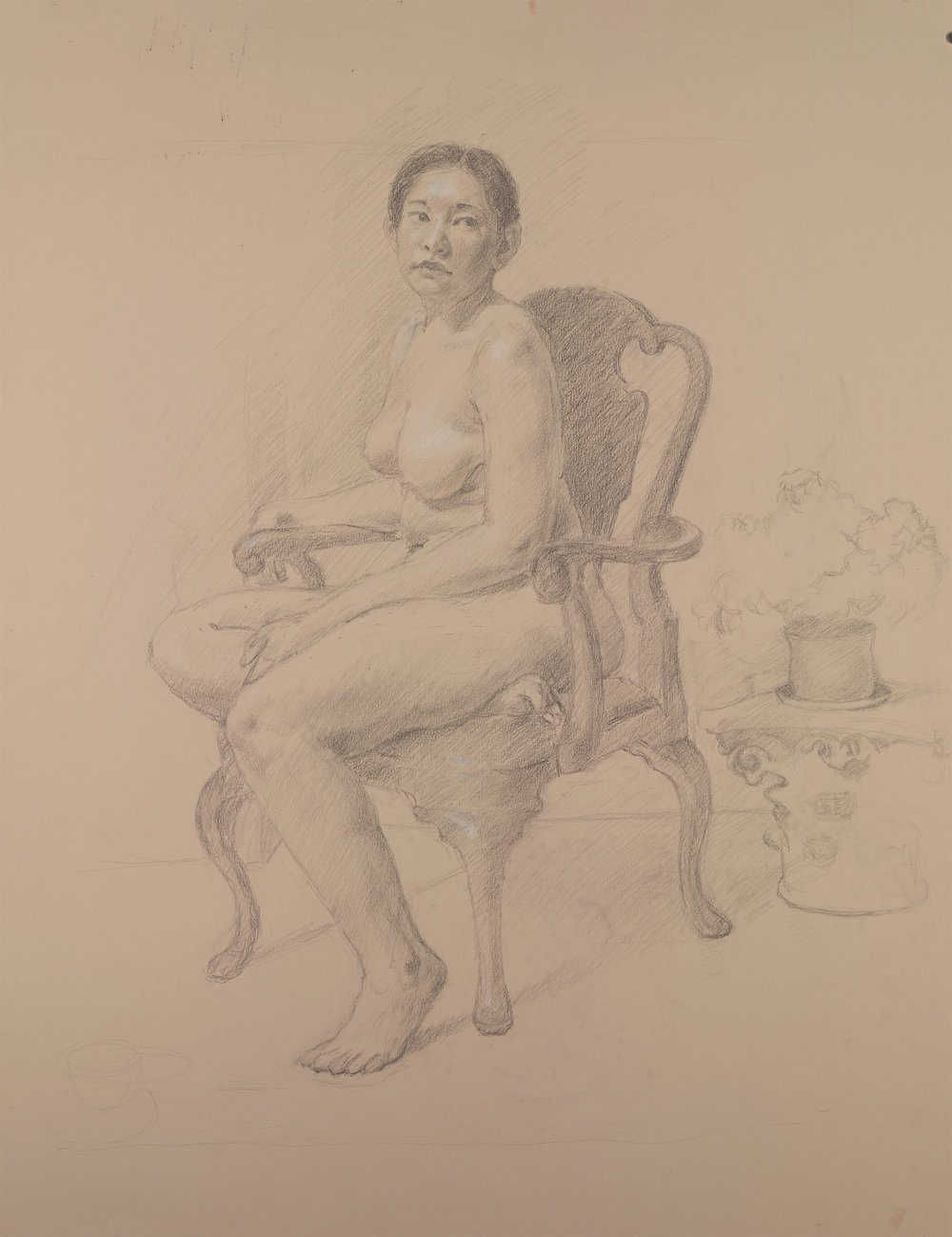 graphite seated catherine.jpg