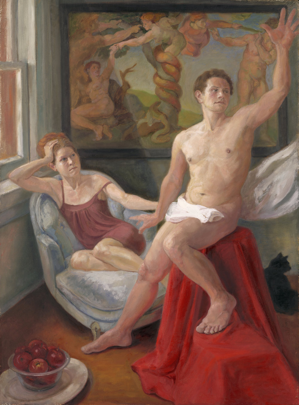 Resisting Temptation: Joseph with the Wife of Potiphar