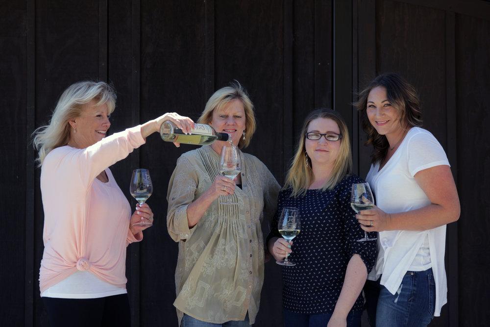 Sissy, Lynn, Miranda & Tara
