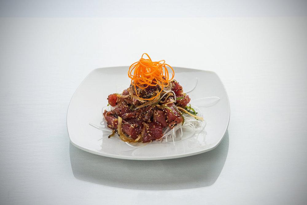 Tuna Poke Sushi Appetizer