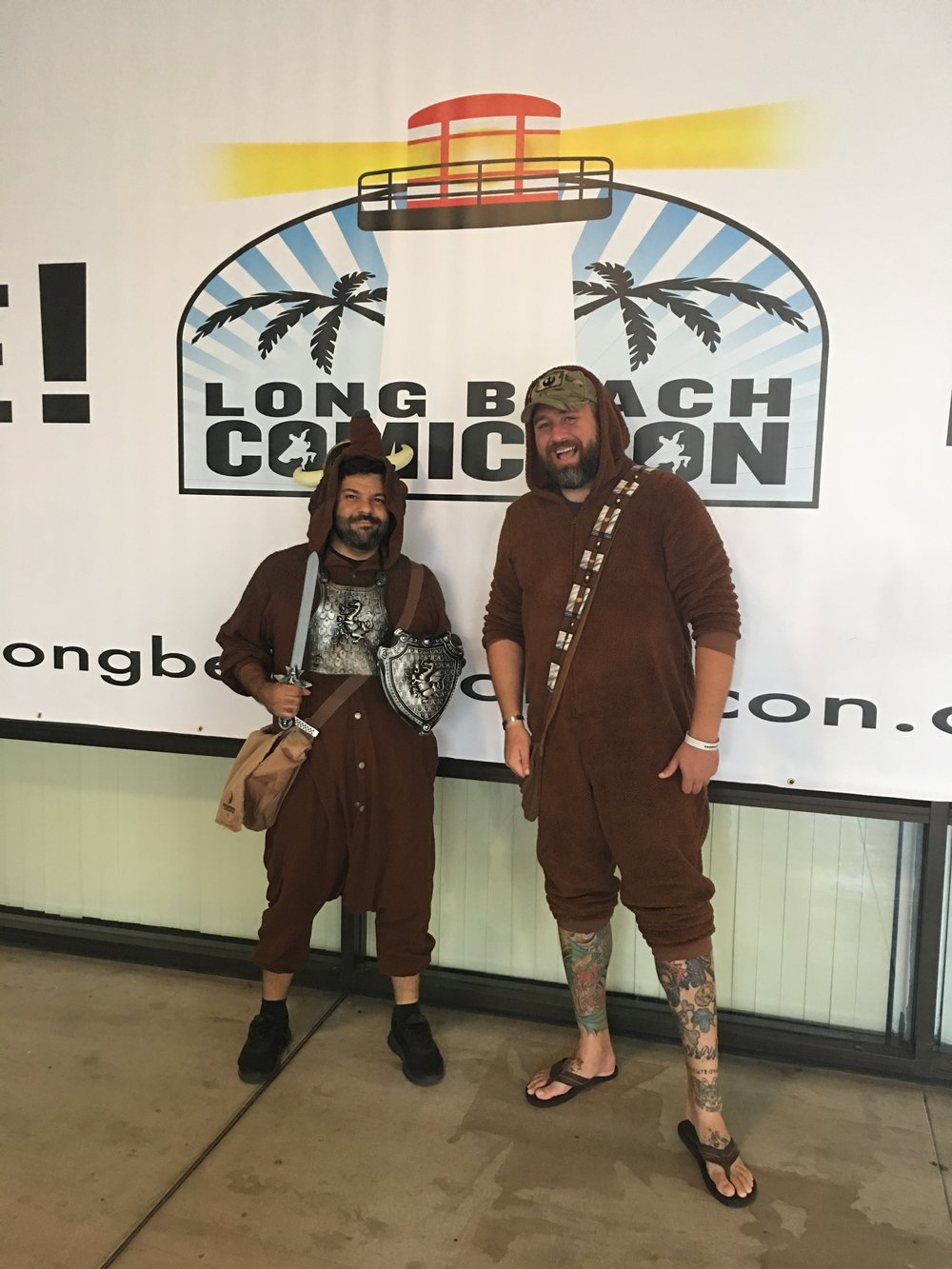 Wookiee & the Dovahbear.jpg