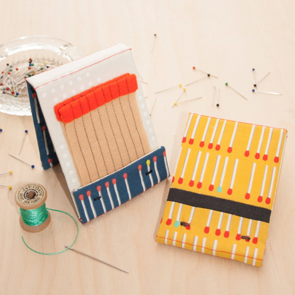 MATCH NEEDLE BOOK PATTERN