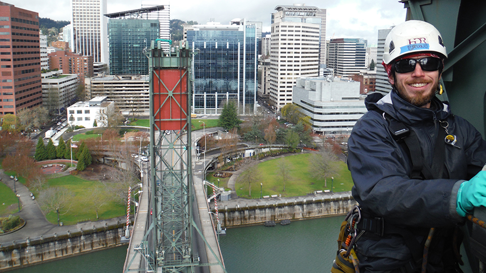 Hawthorne Bridge Inspection