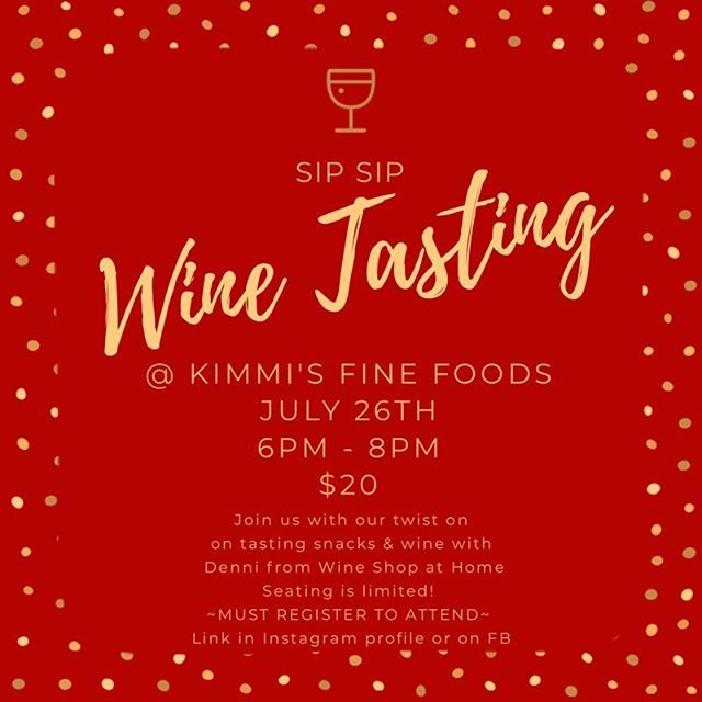 Join us for small batch, boutique Napa Valley wine tasting! Link in profile