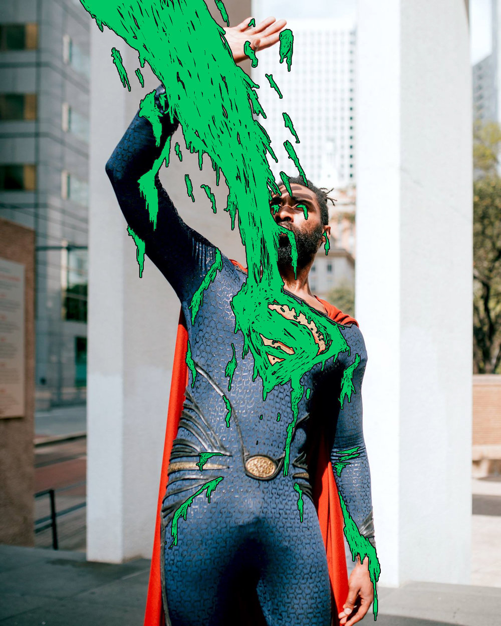 Superman Grimeart