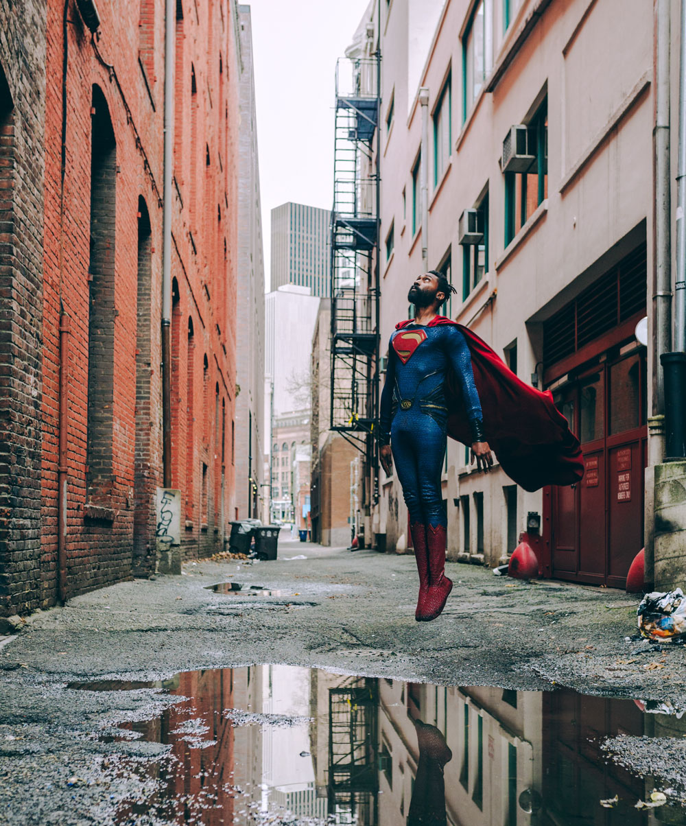 """You're much stronger than you think you are, trust me."" Superman  - photo by Oleg Zharsky"