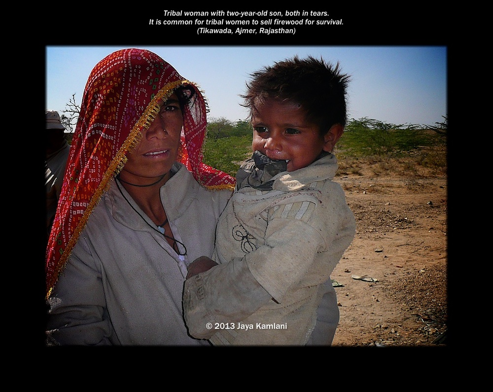 rajasthan_veiled_tribal_woman_and_crying_son.jpg
