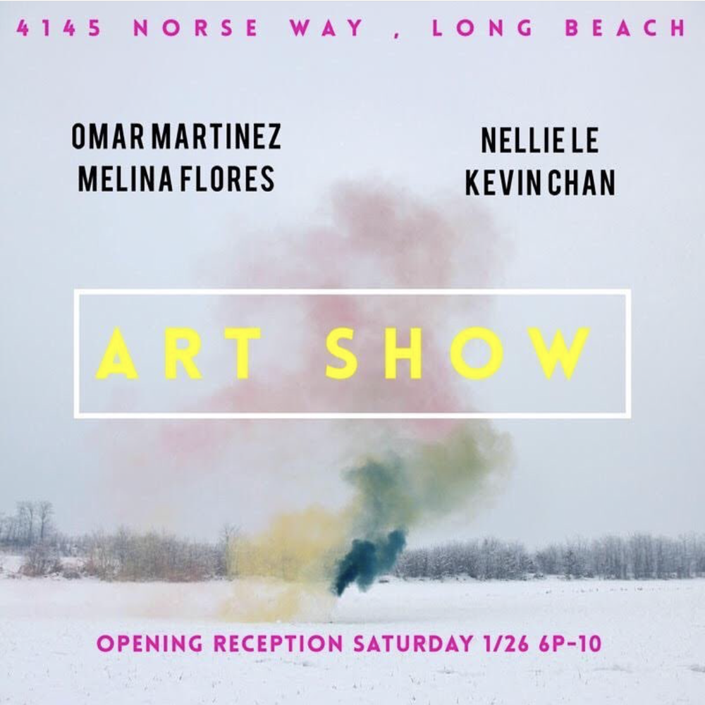 Wolf's Brew - Omar Martinez is showcasing 3 new pieces @wolfsbrew_lbc come check out some art and hang with us!