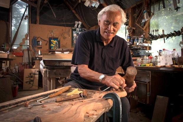 Fred Graham   Sculptor Fred Graham started the Maori Contemporary Art movement in the 1960s along with his friends and colleagues Sir Cliff Whiting, Ralph Hotere, Selwyn Muru and Sandy Adsett.  Listen to his interview about his life and work on Radio NZ here.