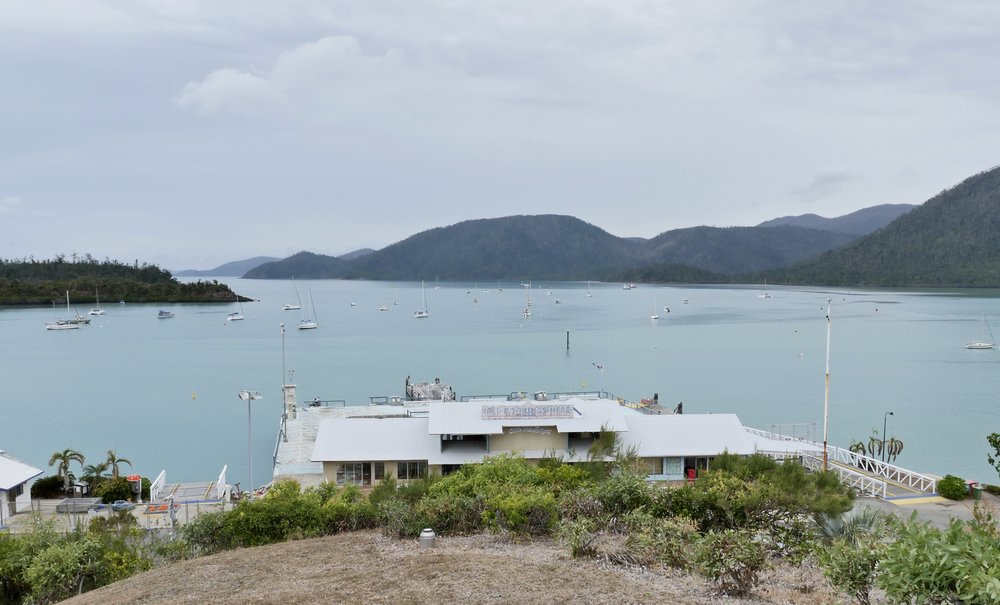 SHUTE HARBOUR KEY - STILL CLOSED AFTER THE CYCLONE