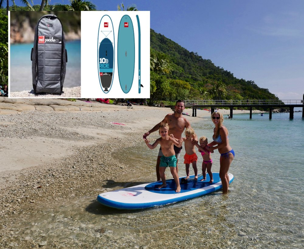 RED PADDLE CO. - THE WORLDS BEST INFLATABLE STAND UP PADDLEBOARDS & IT GETS BETTER, THEY DEFLATE, ROLL UP AND FIT INTO THERE OWN BACKPACK FOR TRAVELLING IN A CARAVAN!!