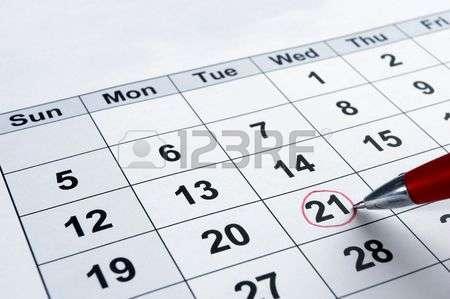 1st tip - set a date!
