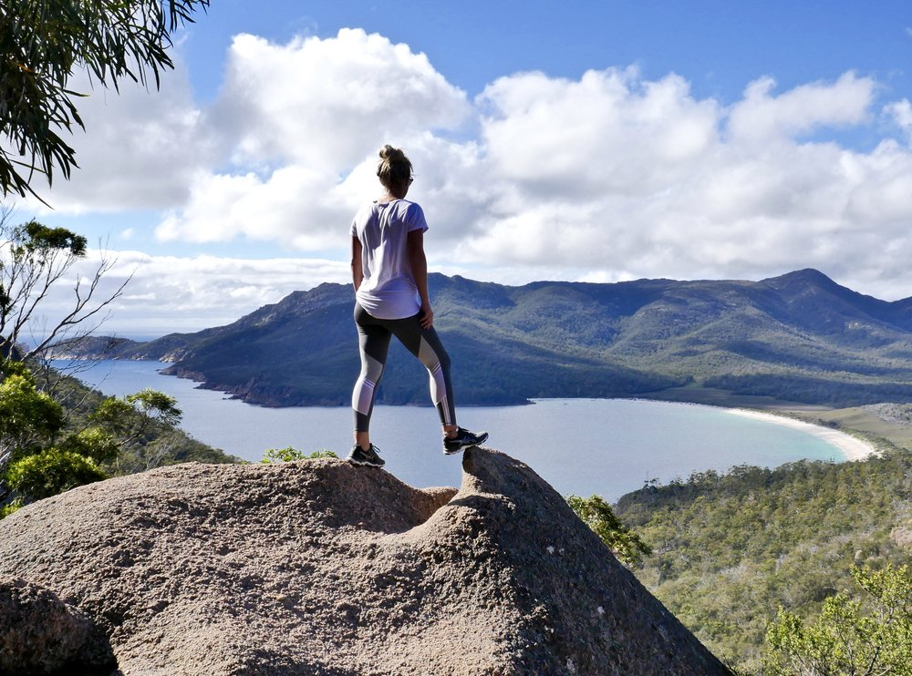 The Wineglass Bay Lookout walk is a must do while your here!