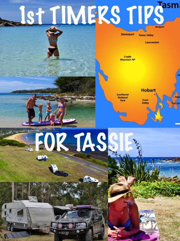 FIRST TIMERS TIPS FOR TASSIE!! — Trip In A Van Post - TIAV