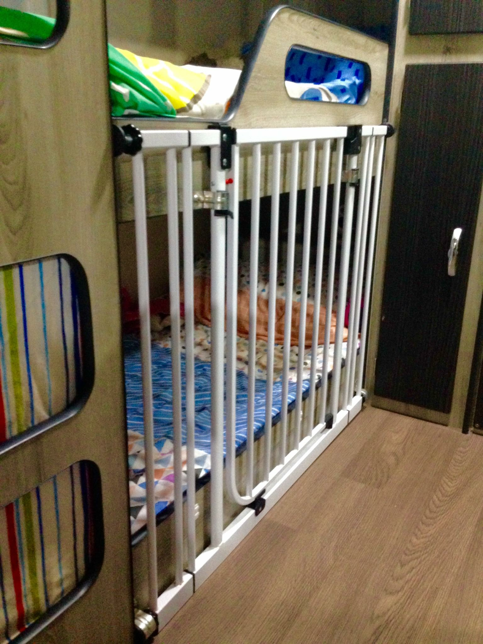 Bunk Beds Keeping A Baby Toddler Contained Trip In A Van Post Tiav