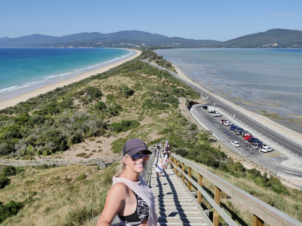 The Neck Lookout!! Another amazing view in Tassie...