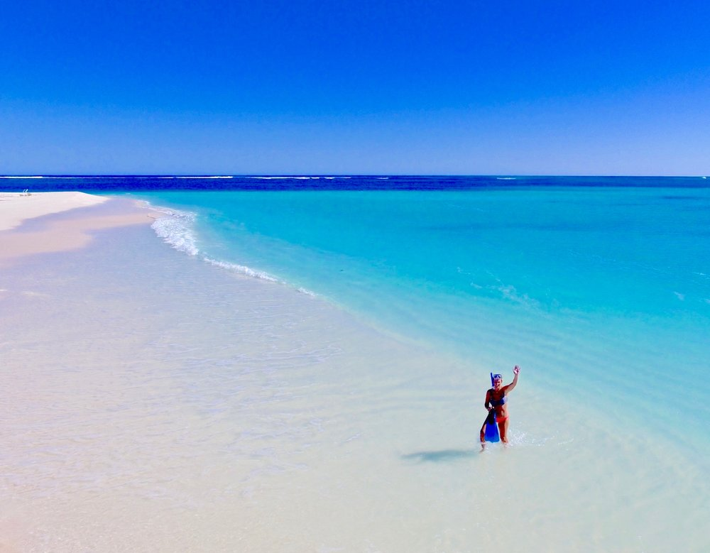 The stunning Turquoise Bay, WA.
