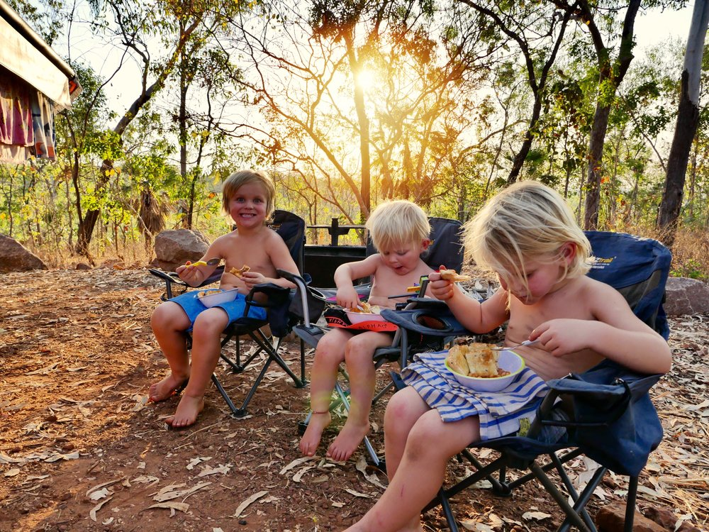 Florene Falls Campground, Lichfield NP