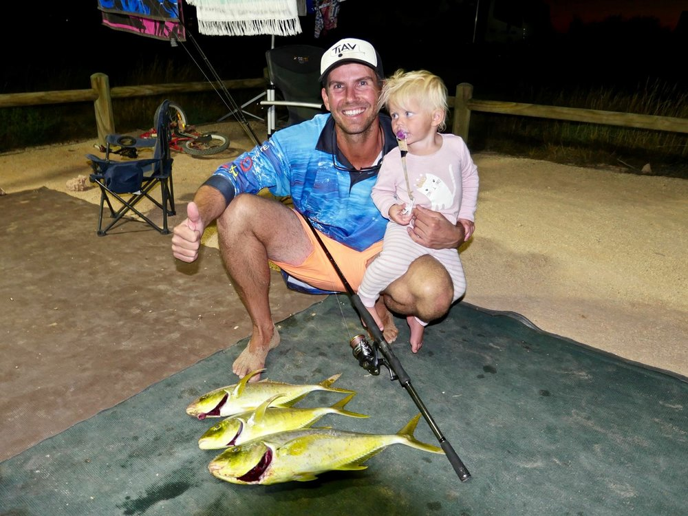 Plenty of fish to be caught on the Ningaloo Reef within appropriate zones.