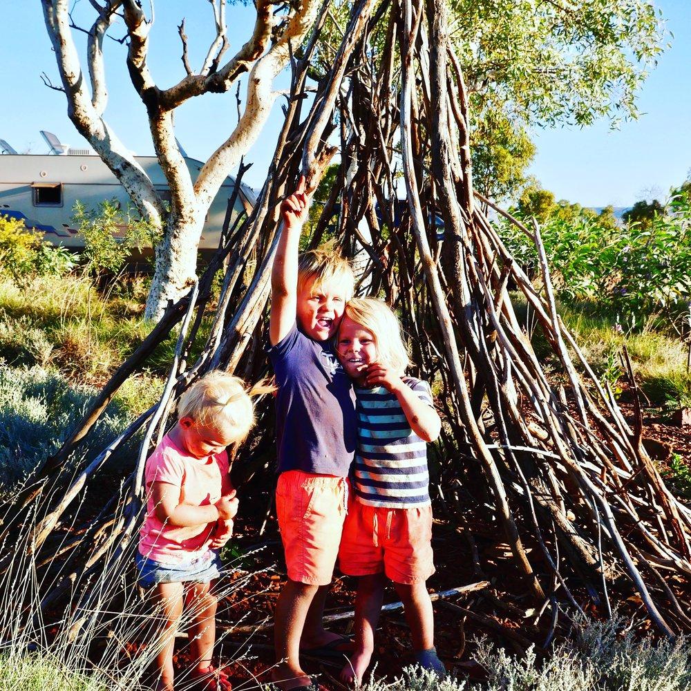 Karijini Eco Retreat Campground.