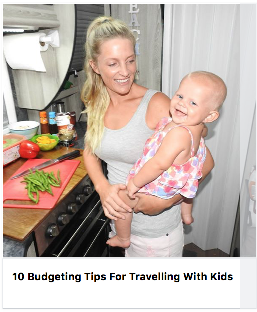 Travelling With Kids - How to save some cash!!