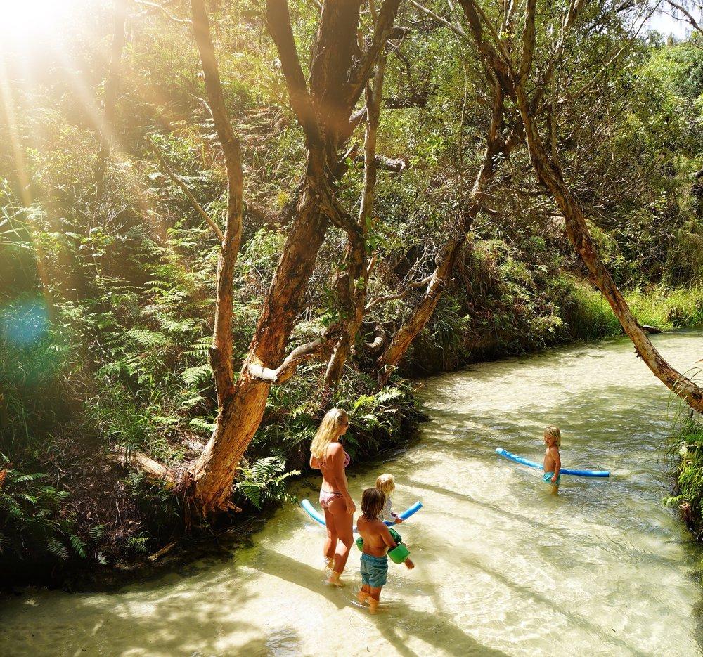 The beautiful Eli Creek