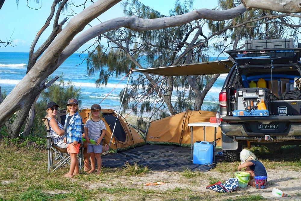 Our setup at Marloo camping zone