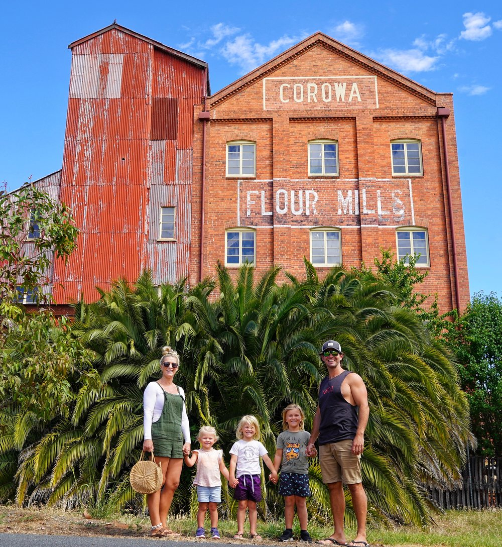 Corowa Whisky & Chocolate Factory (an old flour mill)