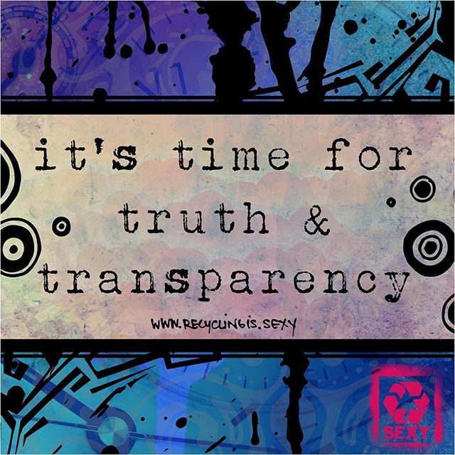 We have the right to know the environmental impact of each product on the market. Demand #truth and #transparency ...the time is now. #materialmindfulness #RISlifestyle #zerowaste #lifecycleassessment ✨💛♻️ Art by @therealsomedayk